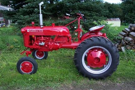 farmall tractor restoration